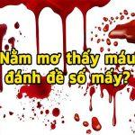 Mơ thấy máu – Giải mã bí ẩn giấc mơ thấy máu đánh con gì ăn chắc