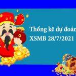 Thống kê dự đoán XSMB 28/7/2021 hôm nay
