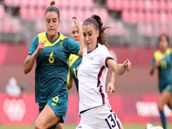 Soi kèo Nữ Úc vs Nữ Mỹ, 15h00 ngày 5/8 - Olympic 2021