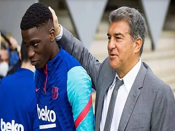 Tin bóng đá 5/8: Chủ tịch Barcelona gửi tối hậu thư cho ngôi sao Moriba